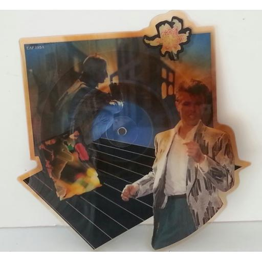 DAVID BOWIE, Loving the alien. Die-cut picture disc.