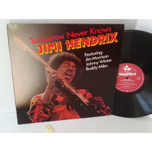 JIMI HENDRIX FEATURING JIM MORRISON, JOHNNY WINTER, BUDDY MILES tomorrow never knows, 90 166