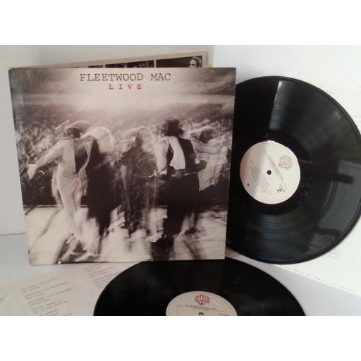 FLEETWOOD MAC live, double album, gatefold, 2WB 3500