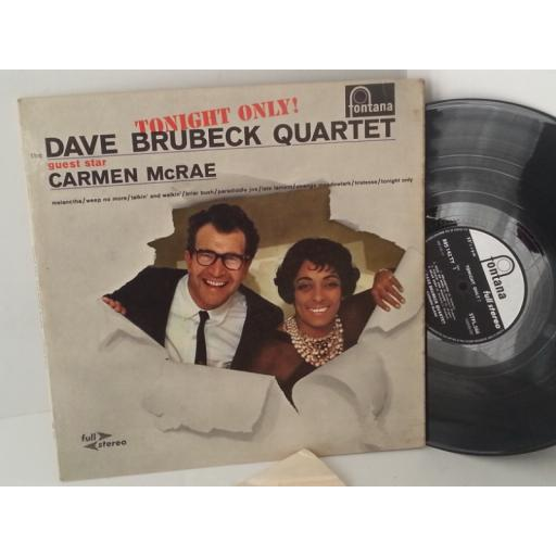 THE DAVE BRUBECK QUARTET tonight only, 885 142