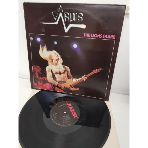 "VARDIS, the lions share, RAZ 3, 12"" LP"