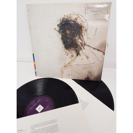 """PETER GABRIEL, passion, RWLP 1, 12"""" LP"""