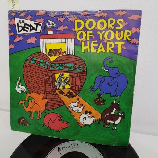 "THE BEAT, doors of your heart, B side get a job, FEET 9, 7"" single"
