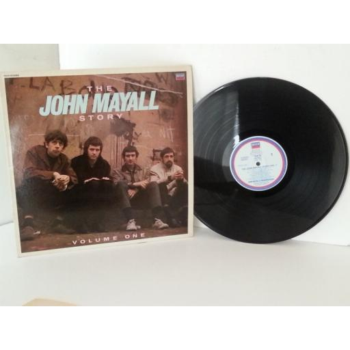 JOHN MAYALL'S BLUESBREAKERS the john mayall story volume one, vinyl LP