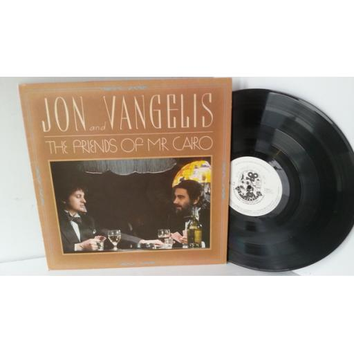JON AND VANGELIS the friends of mr cairo, POLD 5053