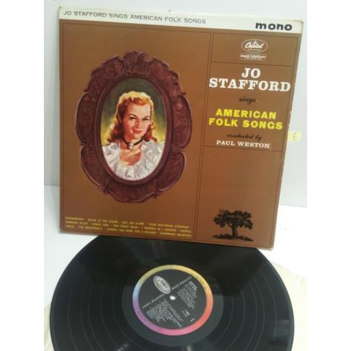 JO STAFFORD sings american folk songs MONO T1653