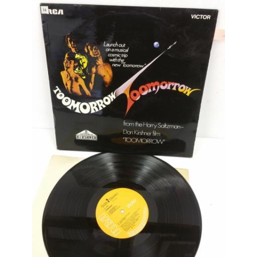 TOOMORROW toomorrow, LSA 3008