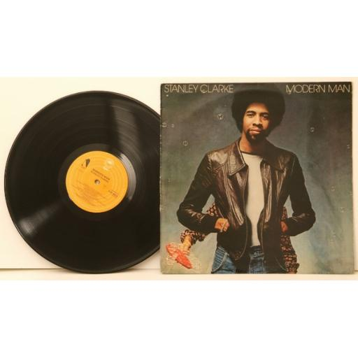 STANLEY CLARKE, Modern man. Top copy. Very rare.First UK pressing. 1978. Reco...