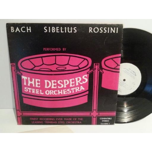 Despers Steel Orchestra BACH SIBELIUS ROSSINI PERFORMED BY THE DESPERS STEEL ORCHESTRA