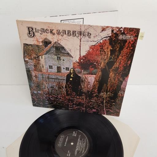 "BLACK SABBATH, black sabbath, NEL 6002, 12"" LP"