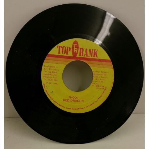 RED DRAGON shoot, 7 inch single