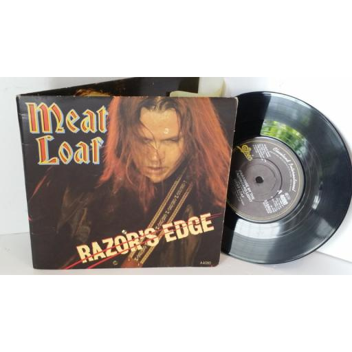 MEAT LOAF razor's edge, gatefold, 7 inch single, A4080