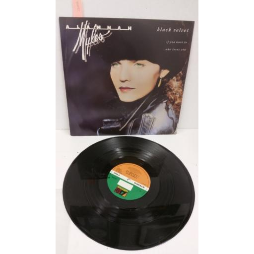 ALANNAH MYLES black velvet, 12 inch single, A8742T