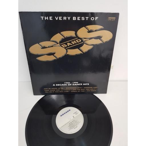 "SOS BAND, the very best of, 01 4530 21, 12"" LP"