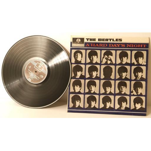 THE BEATLES A hard days night -PCS3058-Two box EMI. UK pressing 1964 Parlophone [Vinyl]