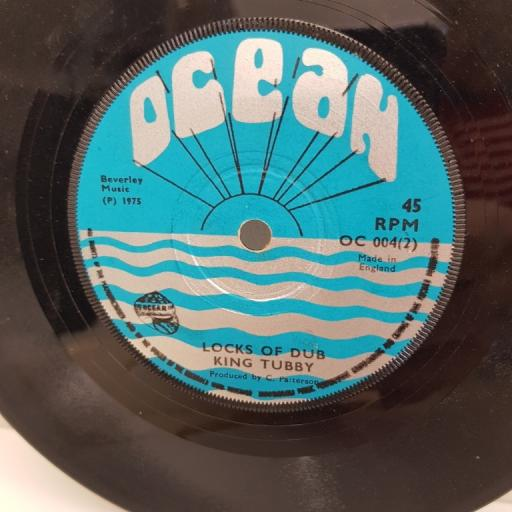 """KING TUBBY locks of dub & LARRY MARSHALL, cant you understand, OC 004 1 , 7"""" single"""