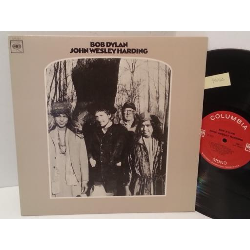 BOB DYLAN john wesley harding, LP 5123