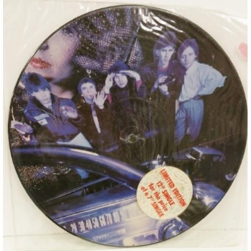 THE CARS since you're gone, limited edition 3 track 12 inch picture disc, K 13177PT