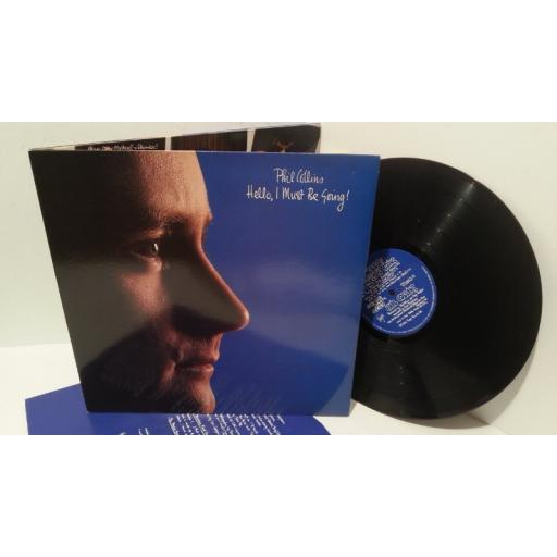 PHIL COLLINS hello, i must be going, gatefold, V2252