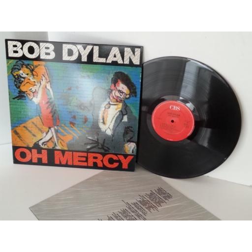 BOB DYLAN oh mercy, vinyl LP