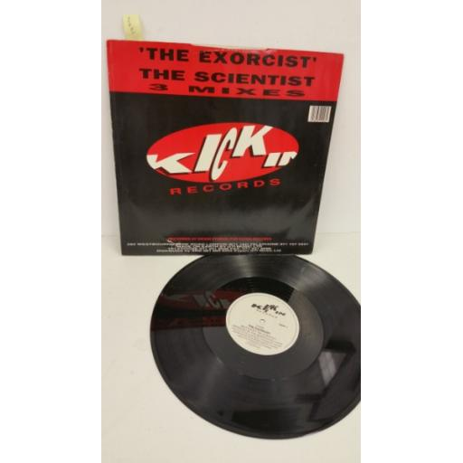 THE SCIENTIST the exorcist, 12 inch single, KICK 1