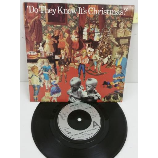 BAND AID do they know it's christmas?, 7 inch single, FEED 1