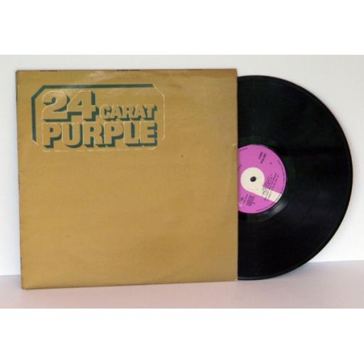 DEEP PURPLE, 24 carat purple.