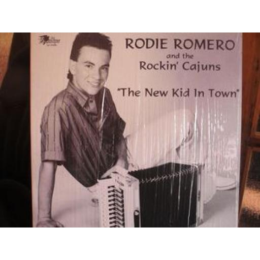 RODIE ROMERO AND THE ROCKIN' CAJUNS the new kid in town, LP-6086