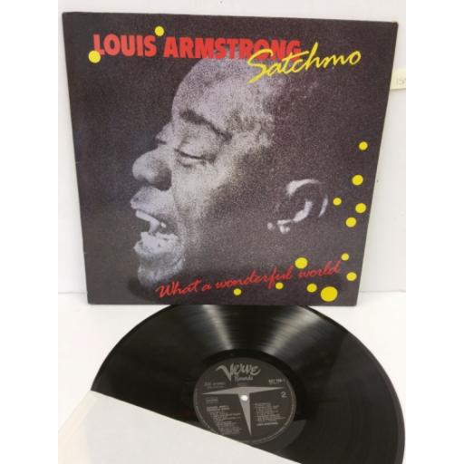 LOUIS ARMSTRONG satchmo - what a wonderful world, 837 786-1