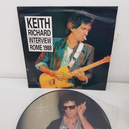 KEITH RICHARD INTERVIEW ROME 1988 SYMPA 34666