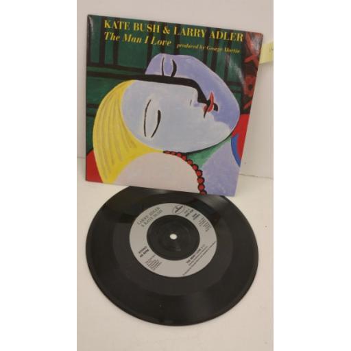 KATE BUSH & LARRY ADLER the man i love, 7 inch single, MER 408
