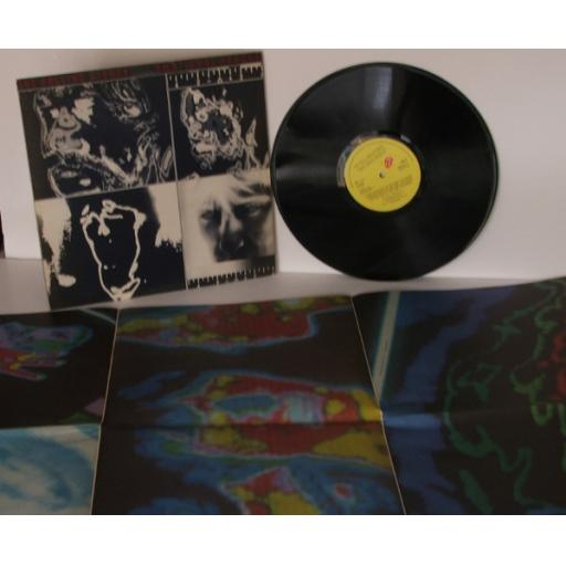 THE ROLLING STONES, Emotional rescue With giant poster. OC064-63774