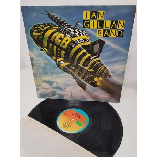 "IAN GILLAN BAND, clear air turbulence, ILPS 9500, 12"" LP"