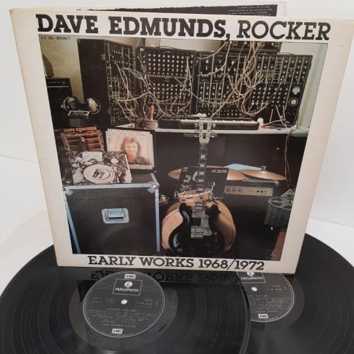 """DAVE EDMUNDS, dave edmunds, rocker: early works 1968/1972, 2C 150 - 99.546/7, 2x12"""" LP, compilation"""