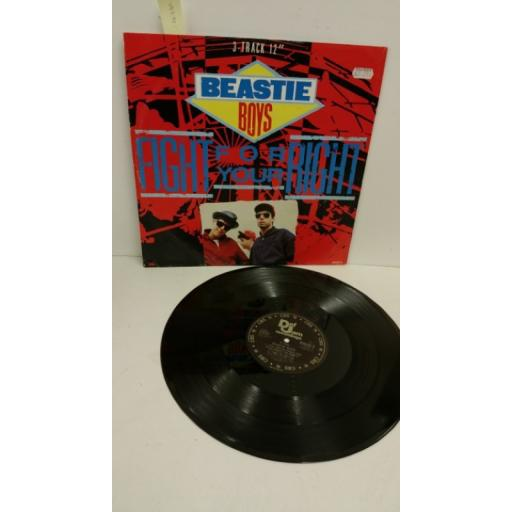 BEASTIE BOYS fight for your right, 12 inch single, 650418