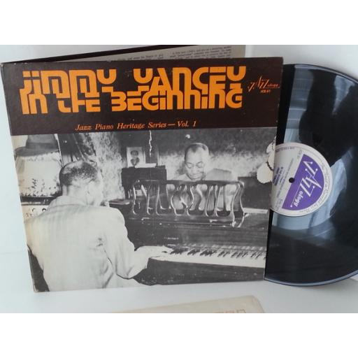 JIMMY YANCEY in the beginning, JCE-51, gatefold