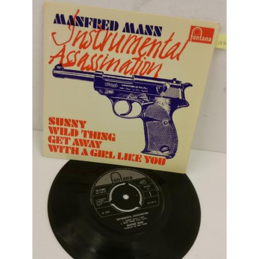 MANFRED MANN instrumental assassination, 7 inch single, TE 17483