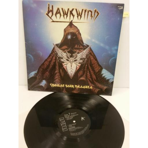 HAWKWIND choose your masques, RCALP 6055