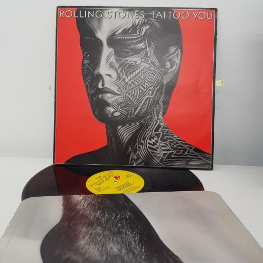 "THE ROLLING STONES, tattoo you, 12"" LP, CUNS 39114"