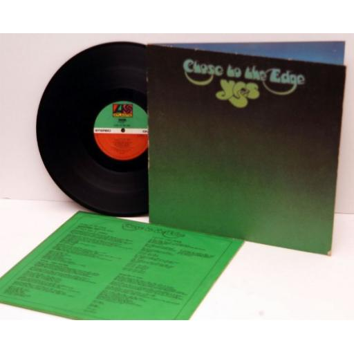 YES, Close to the edge Textured sleeve and lyric inner sleeve. 1972.First UK ...