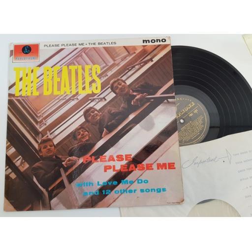 The Beatles - Please Please Me. GOLD LABEL 1st MONO PRESSING PMC1202