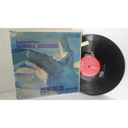 VAUGHAN WILLIAMS, LONDON SYMPHONY ORCHESTRA, ANDRE PREVIN sinfonia antartica, SB-6736