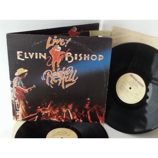 ELVIN BISHOP raisin hell, gatefold, double album, 2CP 0185