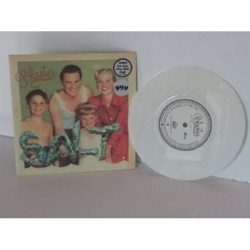 SALT bluster, 7 inch single, white vinyl
