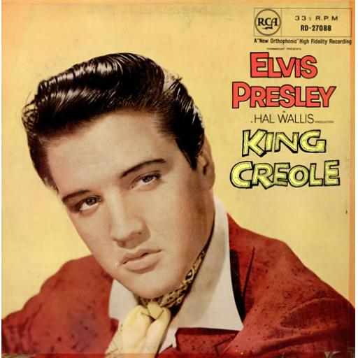 SOLD Elvis Presley KING CREOLE, RD-27088 MONO