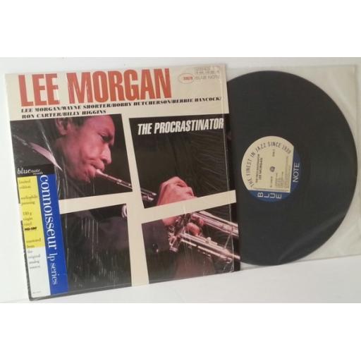 LEE MORGAN, the procrastinator.