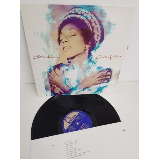 "OLETA ADAMS, circle of one, 842 744-1, 12"" LP"