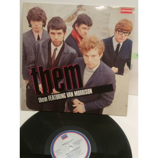 THEM them featuring Van Morrison 810 165-1