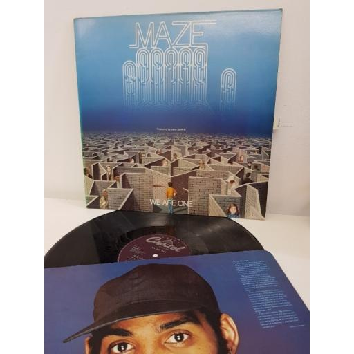"MAZE, we are one, EST 12262, 12"" LP"