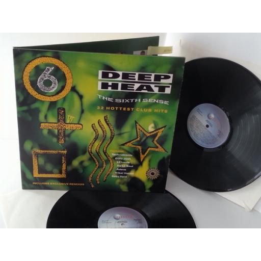 deep heat the sixth sense, STAR 2412, gatefold, double album